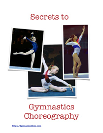 Secrets to Gymnastics Choreography - Cover - 209x270