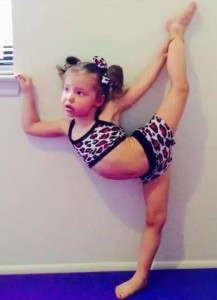 3-Year-Old Gymnast - Emma
