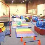 A normal recreational gym with minimal equipment