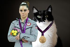 McKayla is not impressed with catty gymnasts