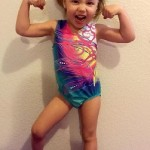 Emma 3-year-old gymnast