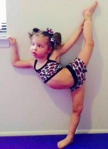 3-Year-Old Gymnast - Emma