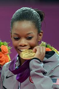 Gabby Douglas All-Around Gold Medal