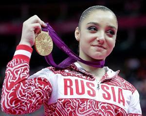 Aliya Mustafina Olympic Gold