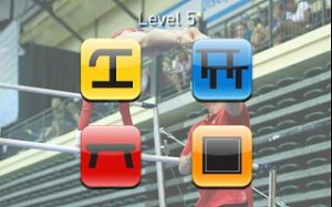 USA Gymnastics Event App Screen