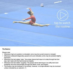 USA Gymnastics Compulsory App Video