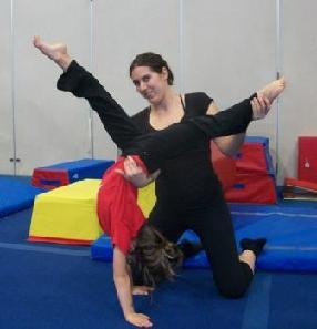 Gymnastics private lesson