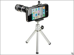 Rollei iPhone Lens and tripod